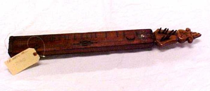 Zither, Board ('langeleik')