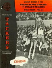 Archival Collection #134 - Grand Rapids Tackers Basketball