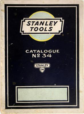 Trade Catalog, The Stanley Works Tools, Catalogue No. 34