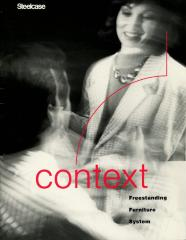 Trade Catalog, Steelcase, Inc., Context Freestanding Furniture System