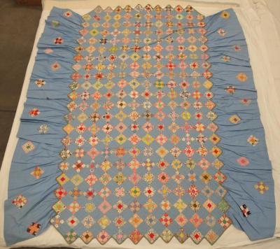 Quilts (2), 'nine Patch' Pattern