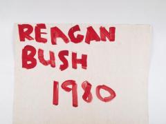 Poster, 'Reagan - Bush - 1980'