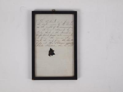 Vest Piece, Abraham Lincoln, Assassination