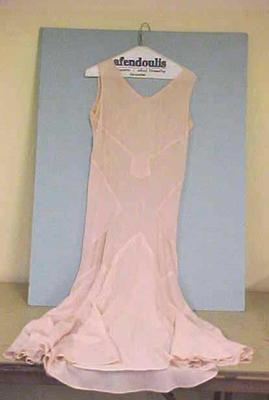Dress, Woman's, Only Pink Under-dress-slip Is Pictured