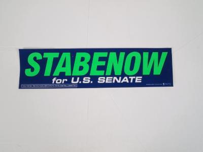Bumper Sticker, Stabenow