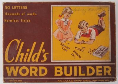 Game, Child's Word Builder