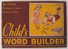 Game, Child's Word Builder