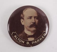 Campaign Button, Alton B. Parker