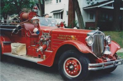 Fire Engine - Pumper , American LaFrance