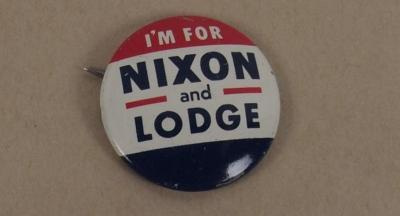 Button, 'I'm For Nixon And Lodge'