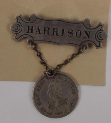 Badge, Harrison For President