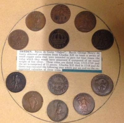 Swedish Currency, 12 Coins