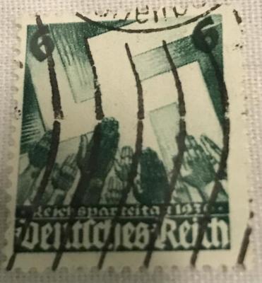 Nazi German Postage Stamps