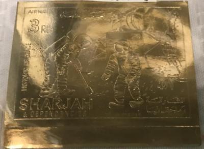 Metallic Foil Stamp