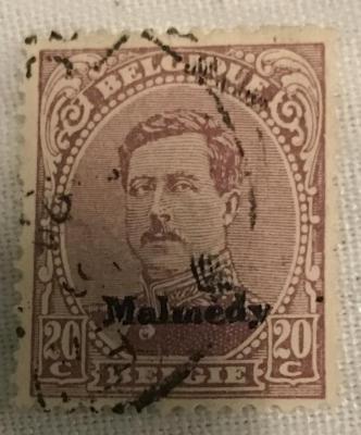 German-occupied Belguim Postage Stamps