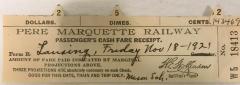 Pass, Pere Marquette Railway