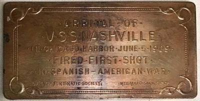 Medallion, U.S.S. Nashville