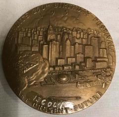Medallion, Detroit, 250th Anniversary, 1951