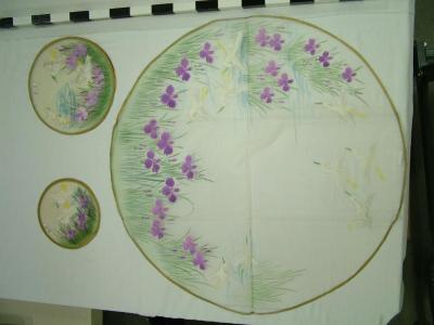 Fan Pieces And/or Doilies