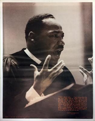 Poster, Martin Luther King, Jr.