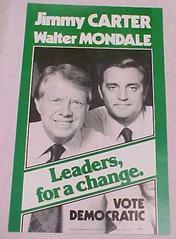 Campaign Poster, Carter-mondale