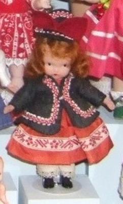 'nancy Ann' Storybook Doll