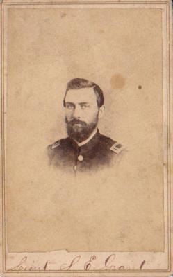 Photograph, Solon E. Grant 1st Michigan Engineers Civil War