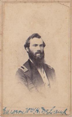 Photograph, William H. Decamp Surgeon 1st Michigan Engineers Civil War