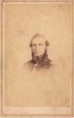 Photograph, Garret Hannings 1st Michigan Engineers Civil War