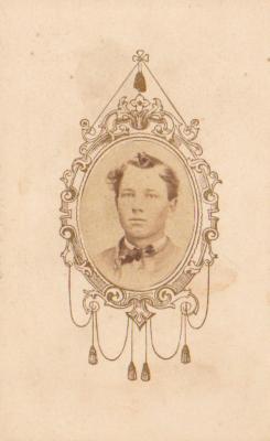 Photograph, Cyrenius S. Barnes 1st Michigan Engineers Civil War