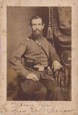 Photograph, Albert B. Culver 1st Michigan Engineers Civil War