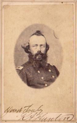 Photograph, Kinsman A. Hunton 1st Michigan Engineers Civil War