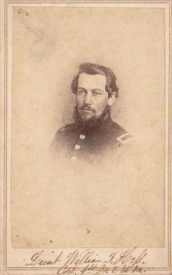 Photograph, William T. Hess 1st Michigan Engineers Civil War