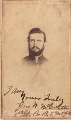 Photograph, John W. McCrath 1st Michigan Engineers Civil War