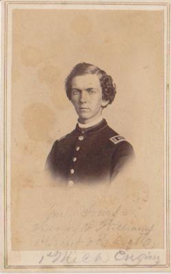 Photograph, Henry F. Williams 1st Michigan Engineers Civil War