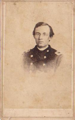 Photograph, John B. Yates 1st Michigan Engineers Civil War