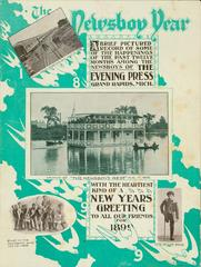 Booklet, The Newsboy Year, 1898