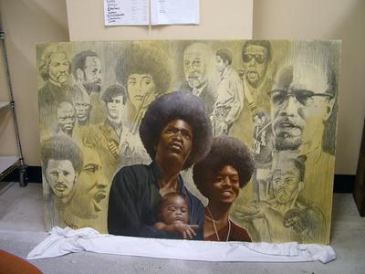 Painting, Oil, Famous People In Black History