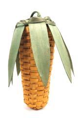 Basket Shaped Like Ear Of Corn