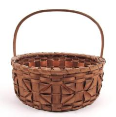 Basket With Geometric Detail