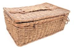 Rectangular Basket With Lid