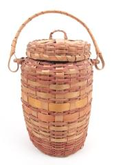 Basket With Lid And Handle