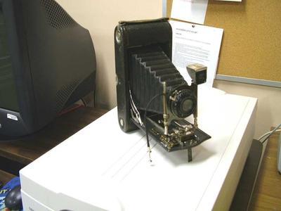 Camera,  Autographic Folding Pocket Camera No 3a