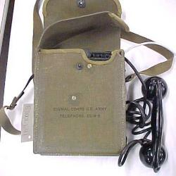 U.S. Army Field Telephone