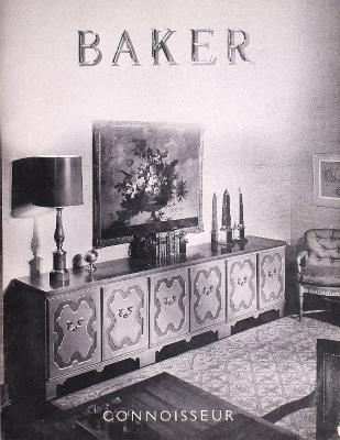 Trade Catalog, Baker Furniture Inc., Connoisseur