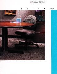 Brochure, American Seating Company, Solar Table