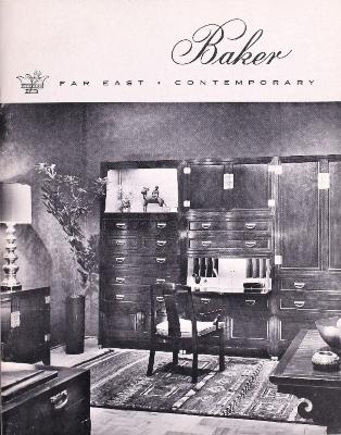 Trade Catalog, Baker Furniture Inc., Far East and Contemporary