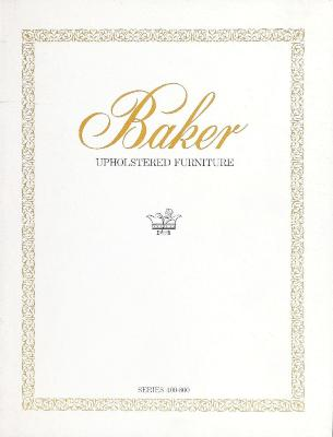 Trade Catalog, Baker Furniture Co., Upholstered Furniture, Series 400-800