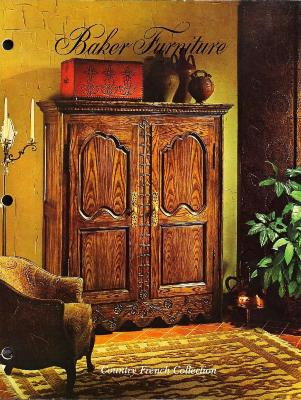 Trade Catalog, Baker Furniture Company, Country French Collection