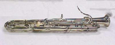 Sarrusophone (bassoon, An English Bass Horn) (no Mouthpiece)